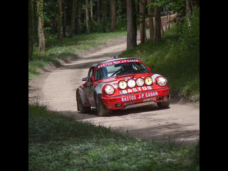Porsche Rally Car at Goodwood
