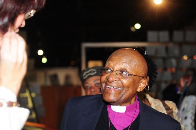 Desmond Tutu to a Cape Town hospital