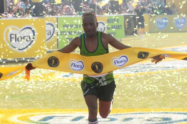 FILE PICTURE: 2013 Comrades Marathon winner Claude Moshiywa. Picture: Refilwe Modise.
