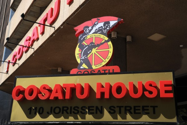 FILE PICTURE: Cosatu House in Johannesburg. Picture: Michel Bega