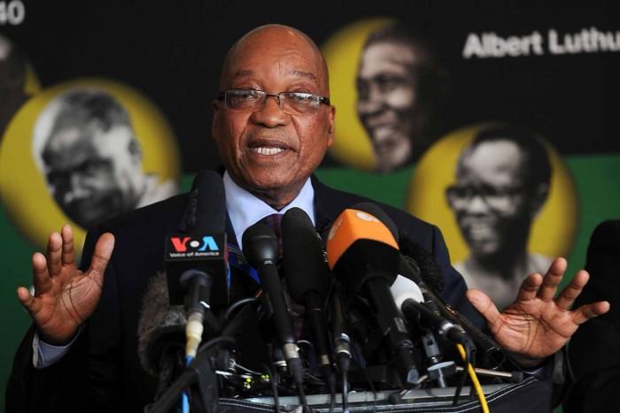 Zuma puts focus on the economy