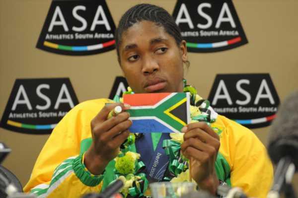 African gold medal hat-trick for Semenya