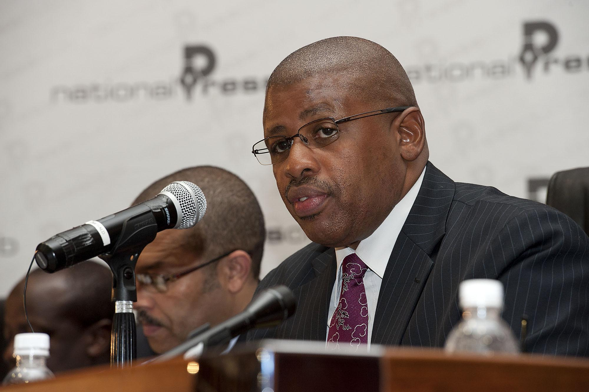 File picture: Auditor General Terence Nombembe. Picture: Christine Vermooten