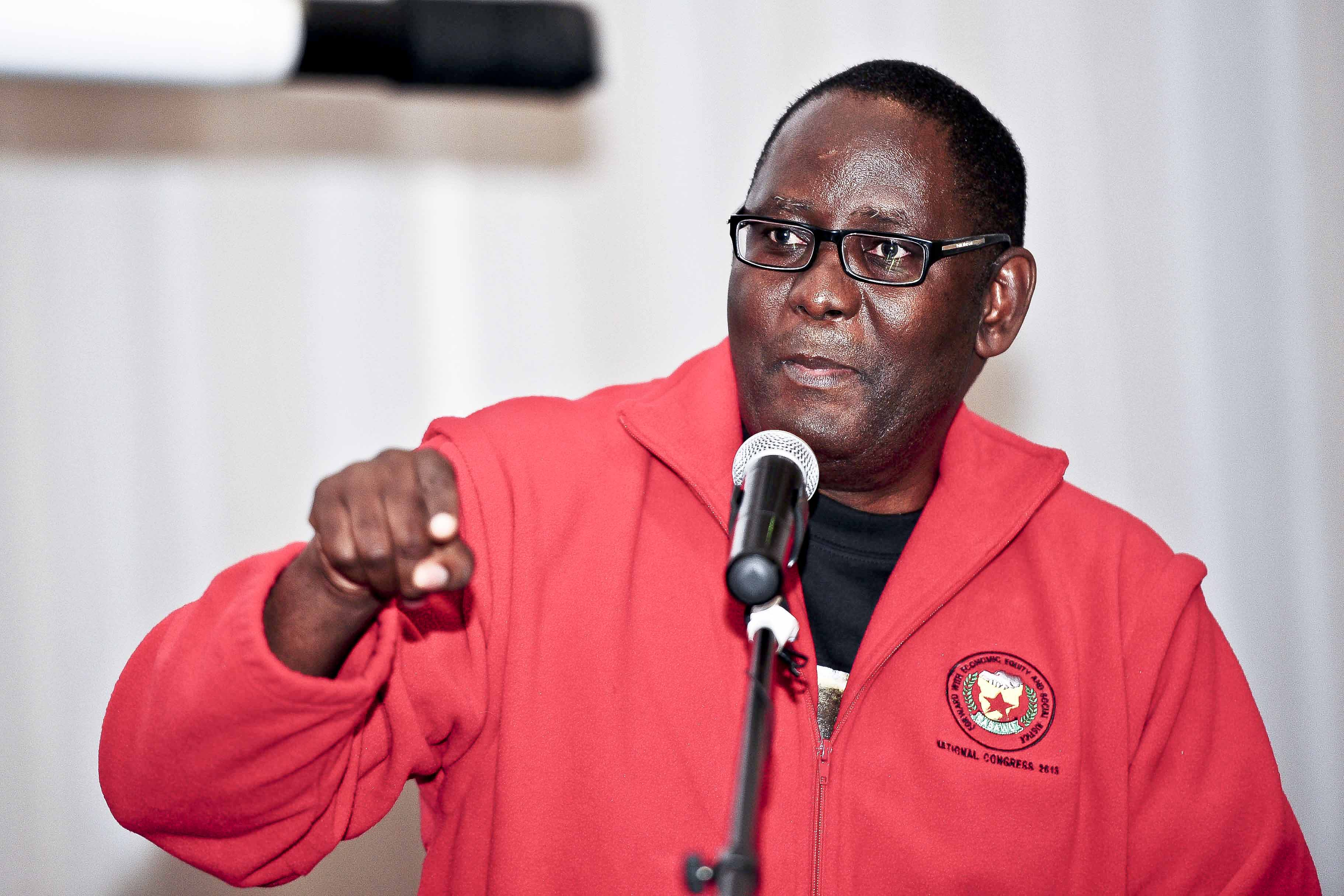 Zwelinzima Vavi. Picture: Neil McCartney.
