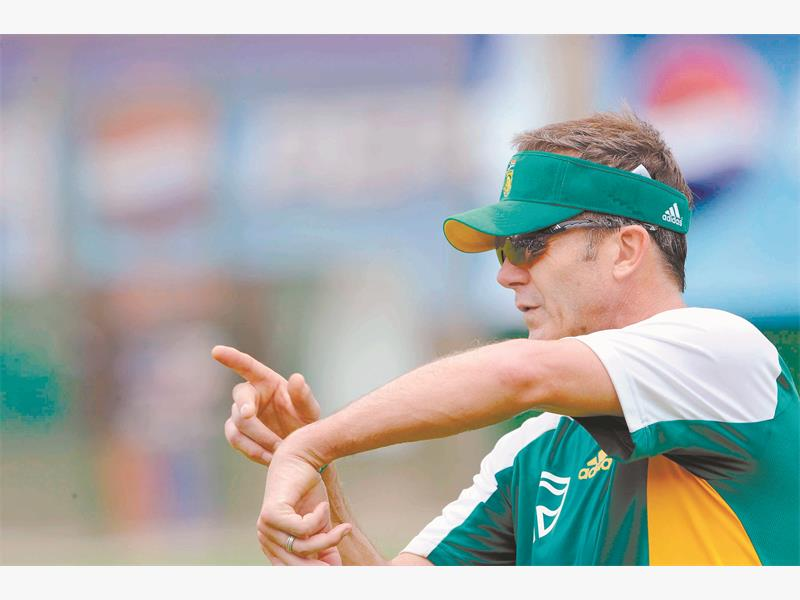 MAN WITH A PLAN. Former Proteas cricket coach Corrie van Zyl, now CSA's general cricket manager, has stressed the importance of making sure new faces in the national set-up are primed for the rigours of international play. Picture: Gallo Images