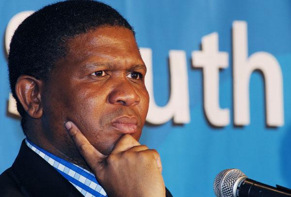 FILE PICTURE: Sports minister Fikile Mbalula. Picture: Morapedi Mashashe.