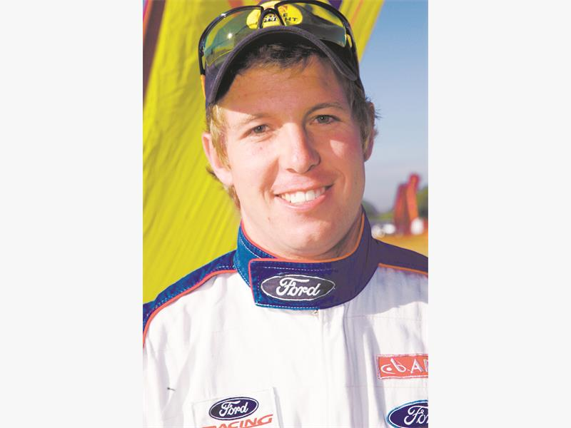 NOMINEE: Ford Racing factory driver Lance Woolridge.