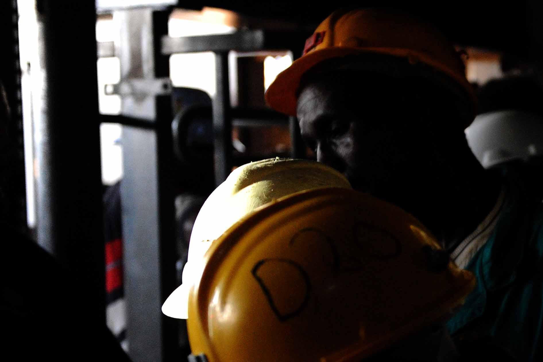 FILE PICTURE: Miners. Picture: Michel Bega