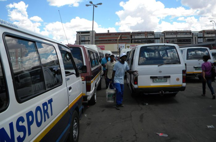 FILE PICTURE. Taxi rank. Picture: Mariné Jacobs.