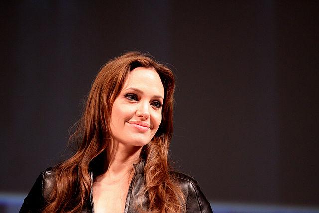 Angelina Jolie. Image courtesy Wikimedia Commons (Gage Skidmore)