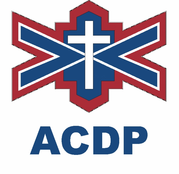 African Christian Democratic Party (ACDP) logo.