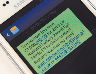 Beware of new scam, police warn