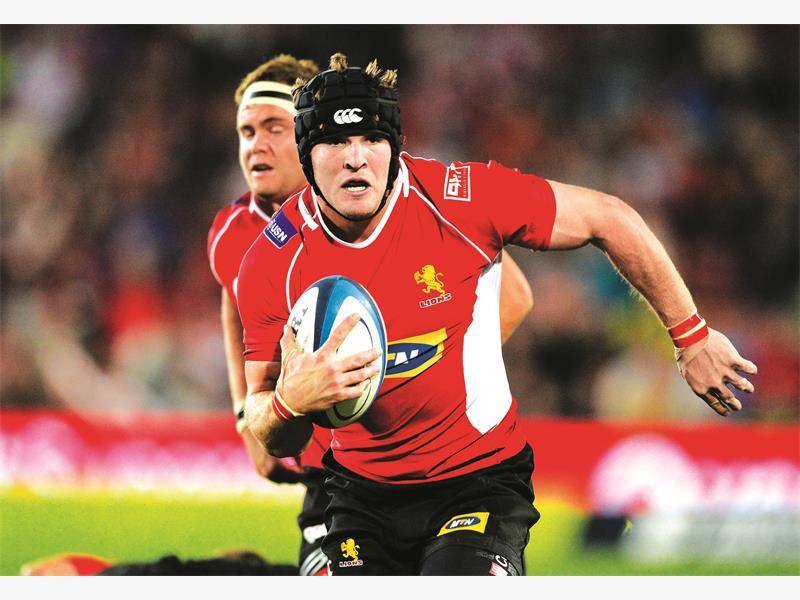 Kriel named Lions captain