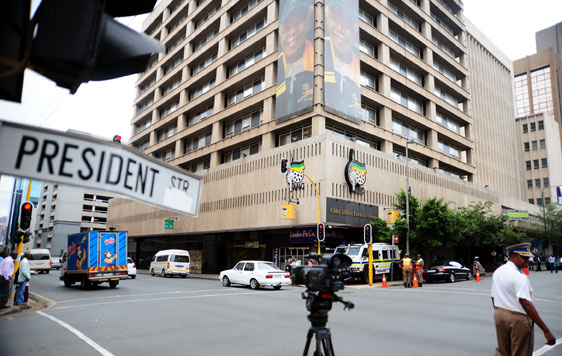 Home-made bomb found in ANC HQ
