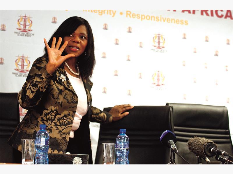 FILE PICTURE: Public Protector Thuli Madonsela. Picture: Christine Vermooten.