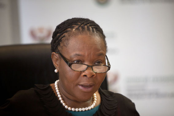 FILE PICTURE: The Minister of Women in the Presidency Ms Susan Shabangu. Photo: Johann Hattingh.