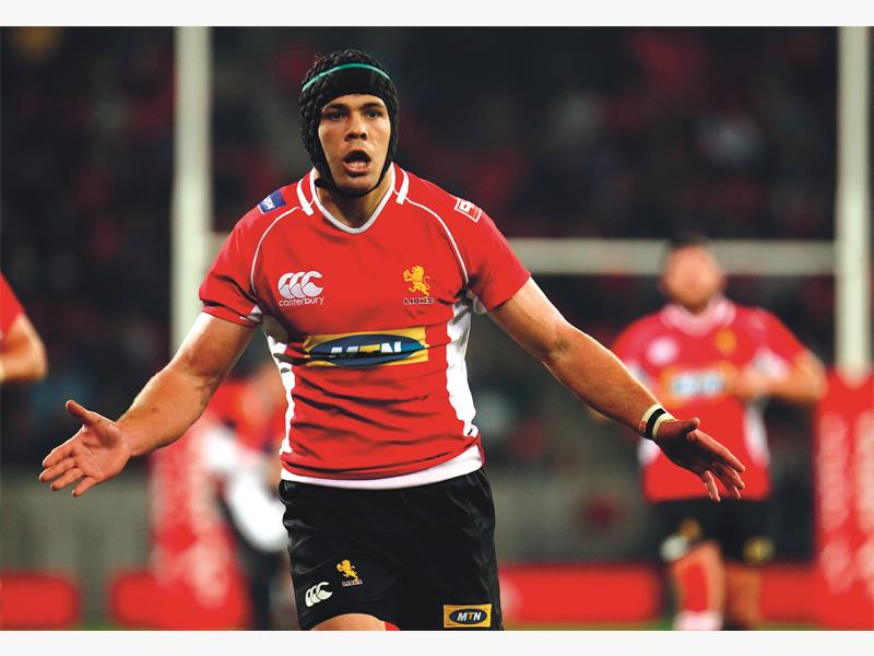 PERFECT TIMING. Warren Whiteley has recovered from a hip injury and has been selected at eighthman for the Lions' Currie Cup match against the Sharks at Ellis Park tomorrow night. Picture: Backpagepix
