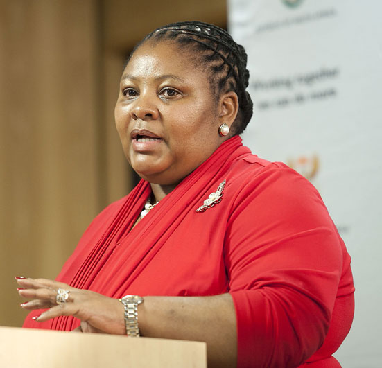 FILE PICTURE: Acting Minister in the Presidency Nosiviwe Mapisa-Nqakula. Picture: Christine Vermooten