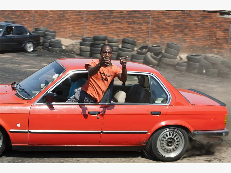 WHEEL MEN. Drivers pose with their vehicles at Soshanguve Spin City. Pictures: Refilwe Modise.