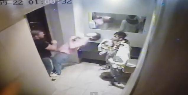 A Gauteng bouncer has been caught on CCTV footage assaulting four teens for allegedly smoking marijuana in a nightclub bathroom. Bouncer in shocking bathroom attack  VIDEO    The Citizen