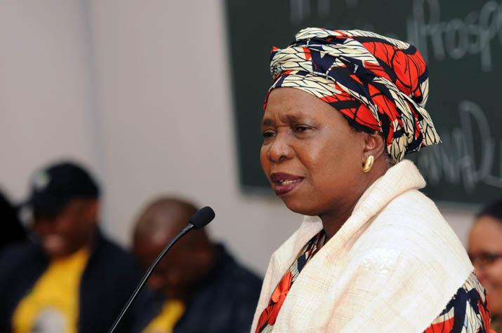 FILE PICTURE: Chairperson of the African Union Commission Nkosazana Dlamini Zuma. Picture: Nigel Sibanda