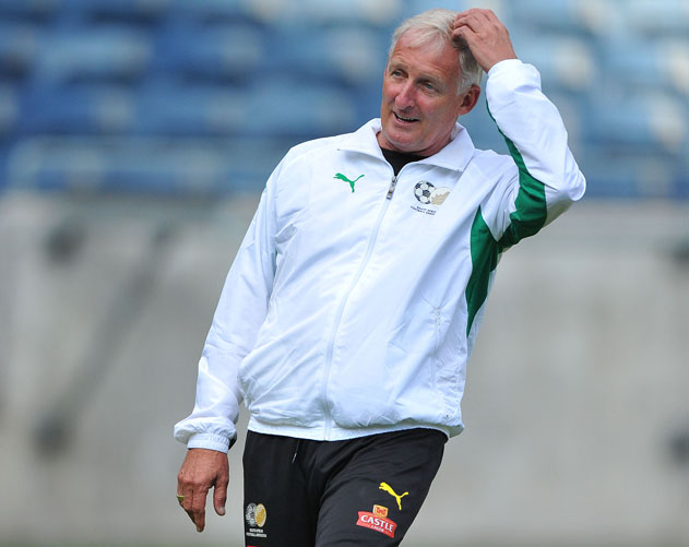 FILE PICTURE: Bafana Bafana coach Gordon Igesund. Photo by Duif du Toit / Gallo Images.