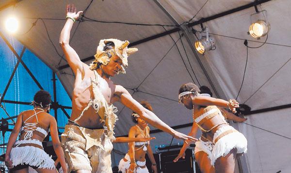 File picture: Khoi San dancers. Picture: Nigel Sibanda