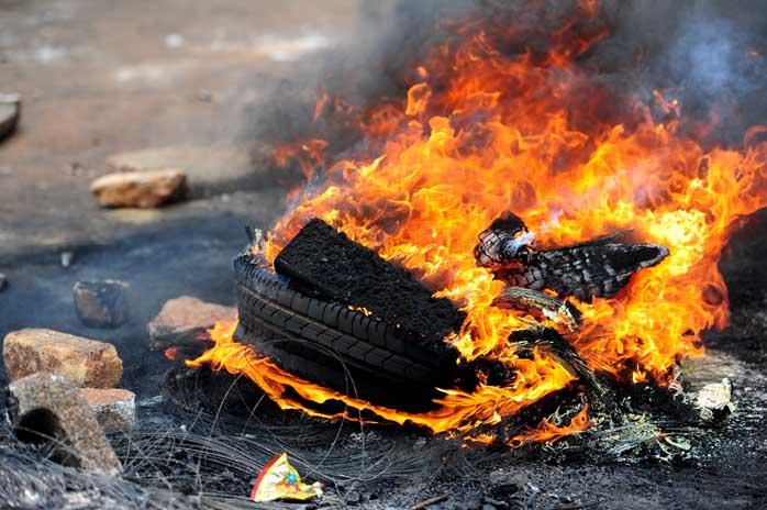 Nine arrested after Mabopane protest