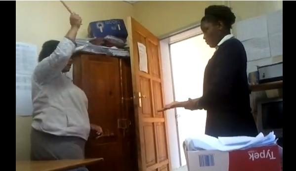 Teacher Caught On Camera Hitting Pupils  The Citizen-9477