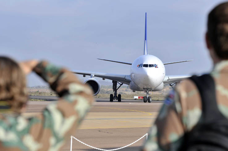 The Waterkloof Air Force Base in Pretoria, 11 October 2013. FILE PIC. Picture: Jacoline Prinsloo/DIRCO