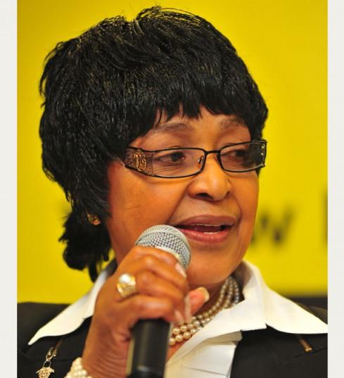 Winnie arrives at Parliament