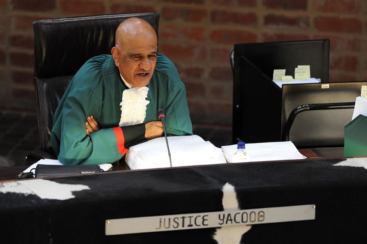 FILE PICTURE: Former Constitutional Court Justice Zak Yacoob. Picture by Michel Bega