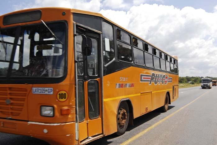 File Picture Putco Bus Travelling A Stretch Of Road Sabrina Dean