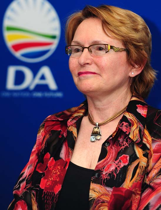 FILE PICTURE: Helen Zille. Picture: Neil McCartney