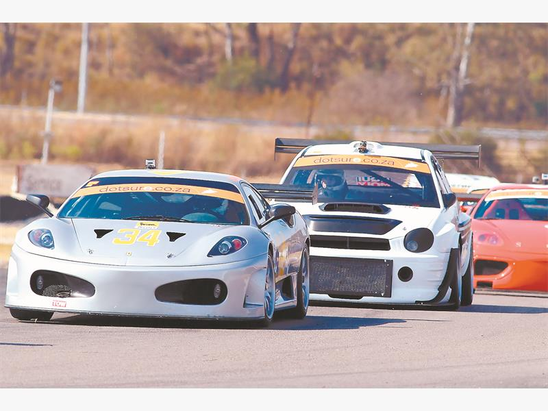 MIXED BAG: A wide variety of vehicles should tackle the second Africa 6-Hour race at Phakisa Raceway, Free State, next year.  Picture: Paul Blackburn.