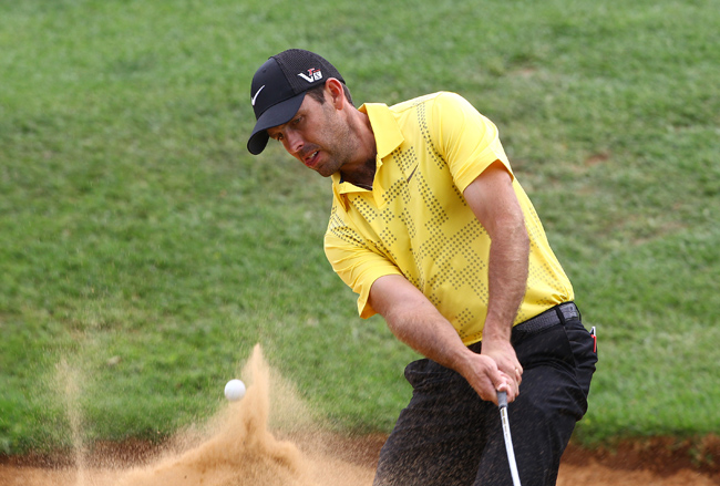 FILE PICTURE: Charl Schwartzel during the preview day of the South African Open Championship at Glendower Golf Club on November 20, 2013 in Johannesburg, South Africa. (Photo by Luke Walker/Sunshine Tour/Gallo Images)