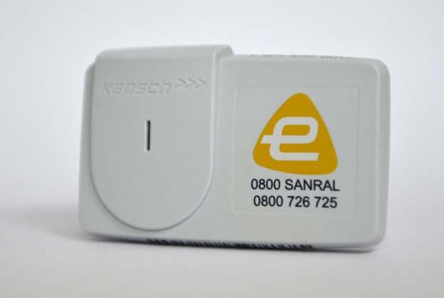 File picture: A Sanral e-tag.