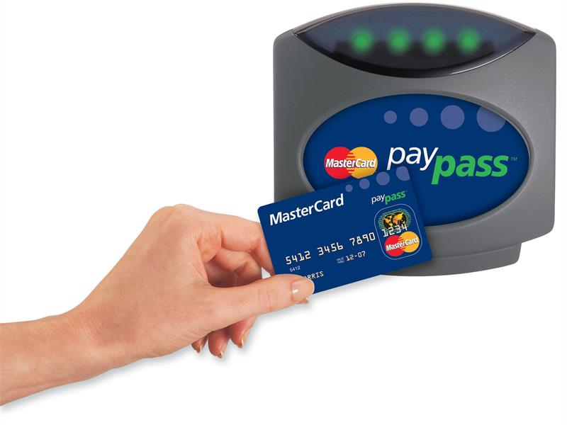 Mastercard with the PayPass NFC technology.