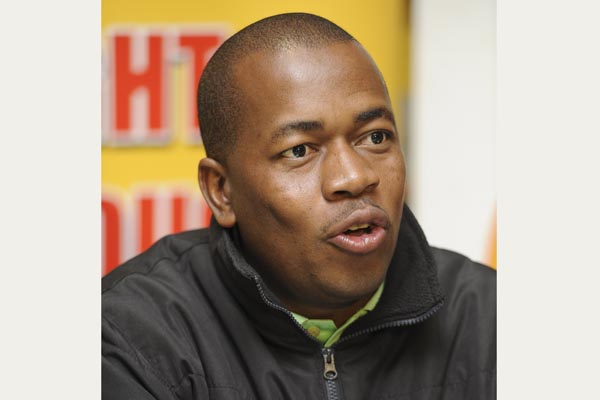FILE PIC. ANC Youth League's and deputy minister of trade Mzwandile Masina. Picture: Refilwe Modise