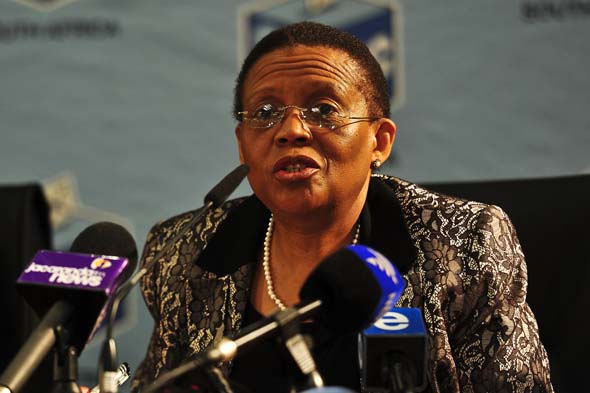 FILE PICTURE: Independent Electoral Commission (IEC) chairman Pansy Tlakula. Picture: Christine Vermooten