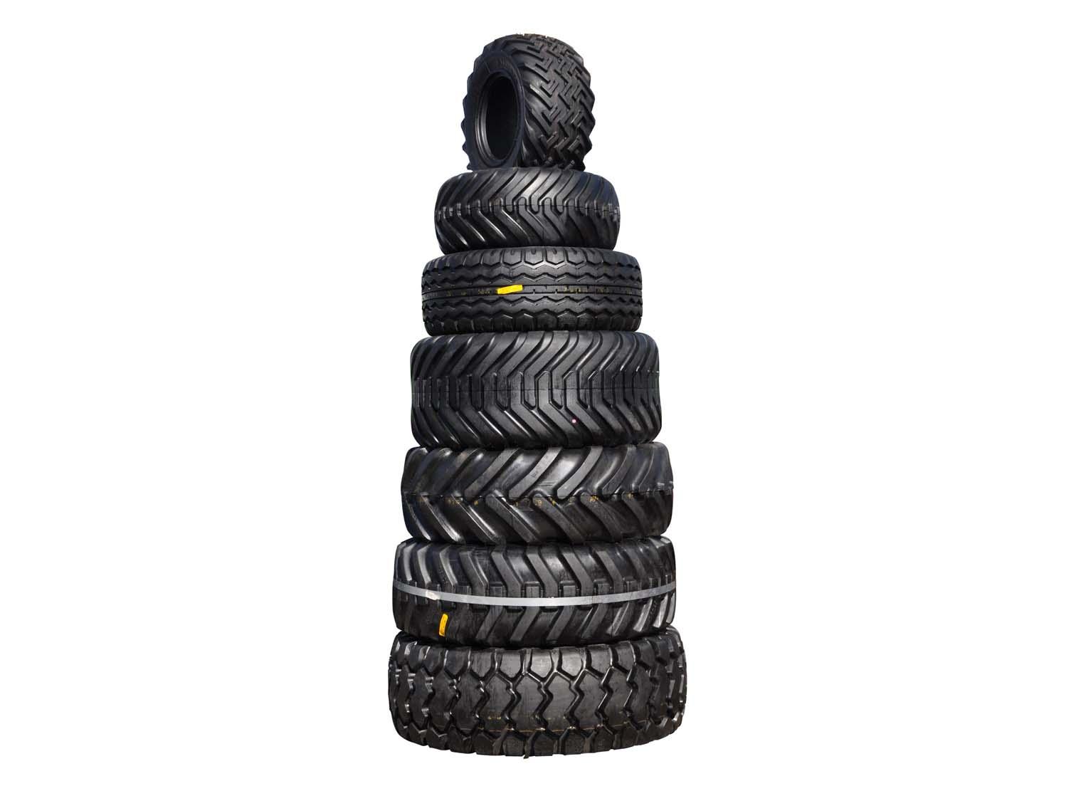 Tractor tyres. Image courtesy: Freerange.com