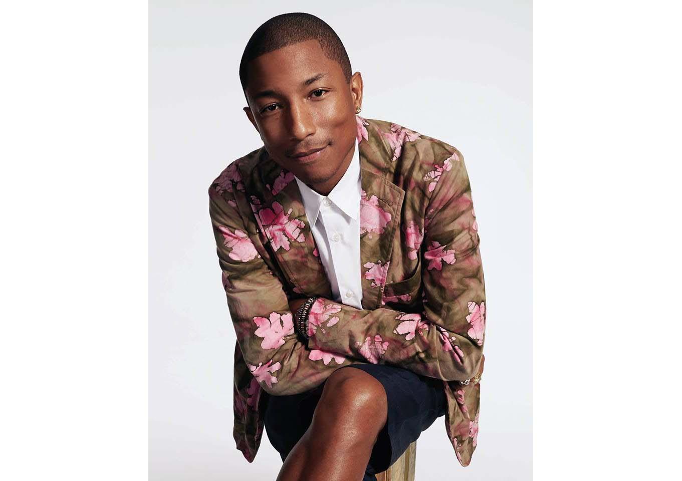 Pharrell Williams. Image courtesy: Facebook