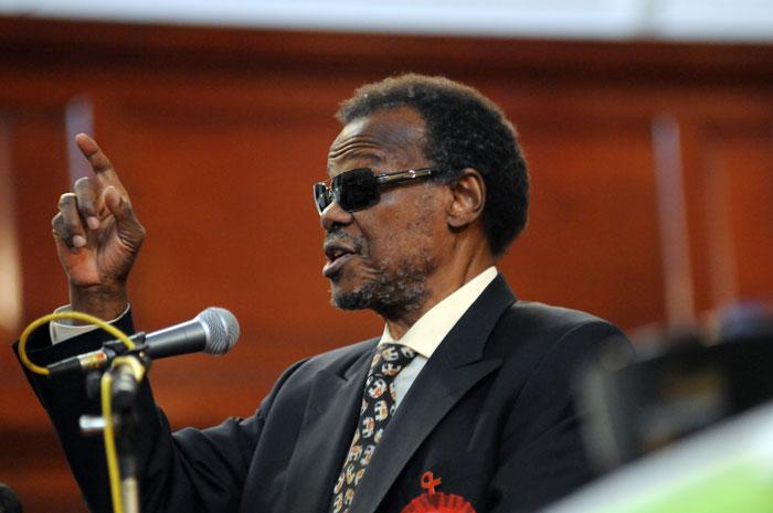 FILE PICTURE: IFP leader Mangosuthu Buthelezi. Picture: Nigel Sibanda