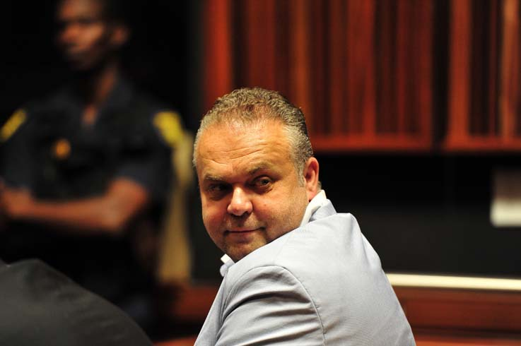 FILE PICTURE: Radovan Krejcir at the Palm Ridge Magistrates court. Picture: Neil McCartney