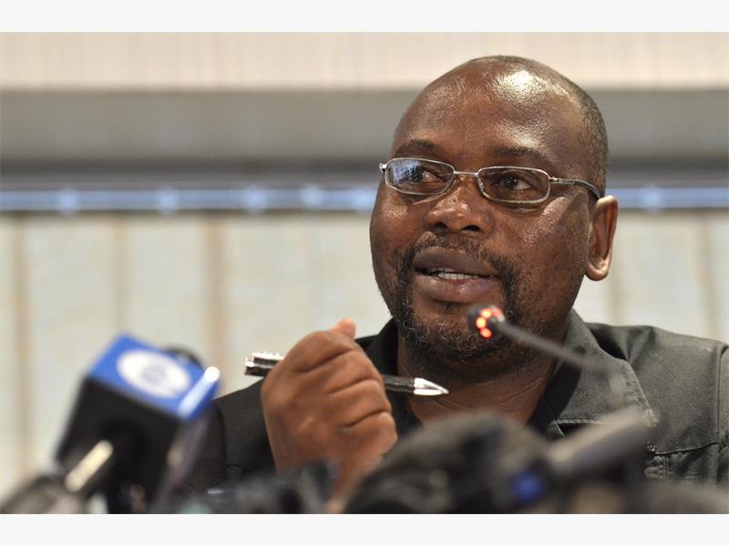 FILE PICTURE: Cosatu president S'dumo Dlamini. Picture: Alaister Russell