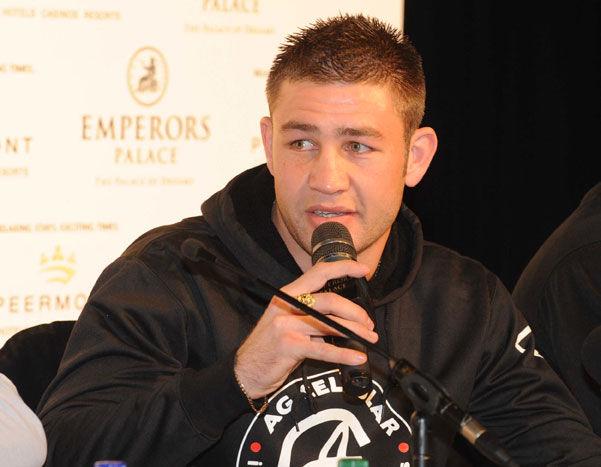 FILE PICTURE: Chris van Heerden during the Blockbuster Boxing Tournament press conference at Emperors Palace on July 19, 2011 in Pretoria, South Africa