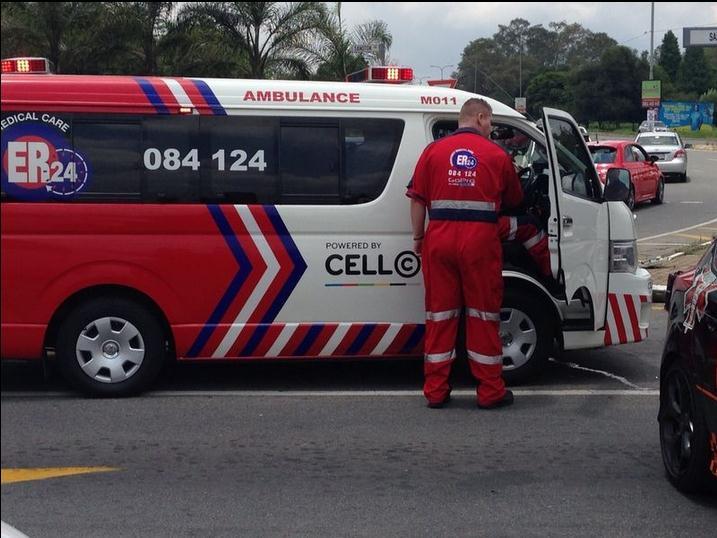 ER24 paramedics responding to a call-out. Photo: ER24