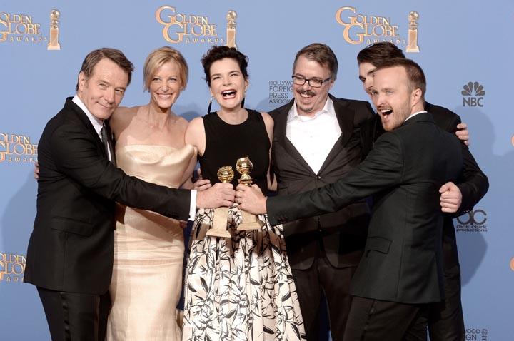 Winners of Golden Globes 2014