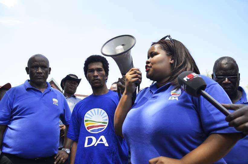 FILE PICTURE: DA parliamentary leader Lindiwe Mazibuko. Picture: Valentina Nicol