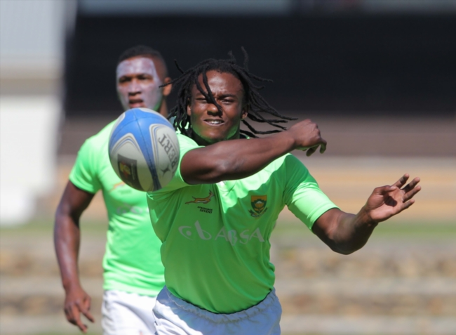 FILE PICTURE: Rosko Specman during the Springbok Sevens training session at the Stellenbosch Academy of Sport on January 13, 2014 in Stellenbosch, South Africa. (Photo by Carl Fourie/Gallo Images)
